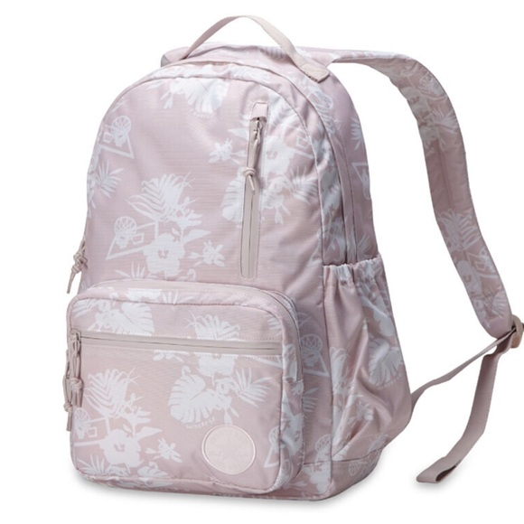 db3d34d22e NWT Converse Go Backpack Barely Rose W AUTHENTIC